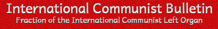 International Communist Bulletin